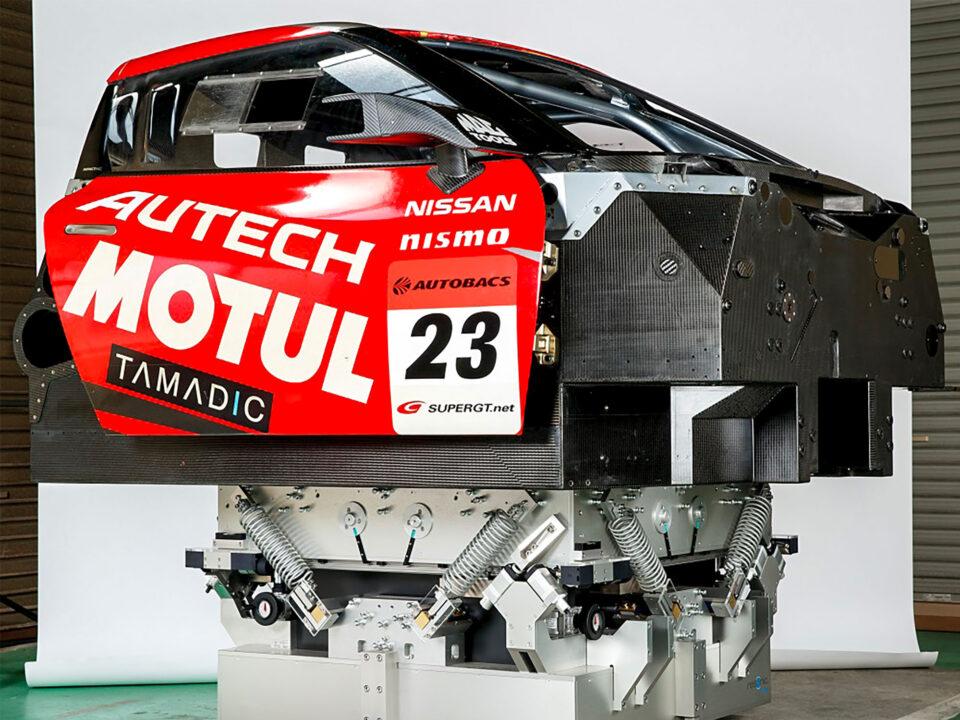 mass-center-of-gravity-COG-moment-of-inertia-MOI-measurement-machine-racing-chassis